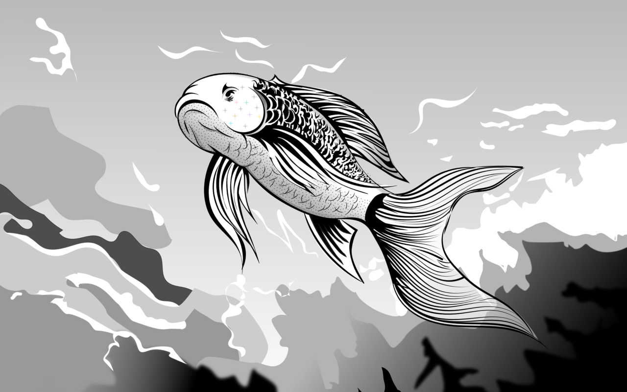 DA_black_and_white___fish_and_water_by_golden_ribbon-d6tpk62