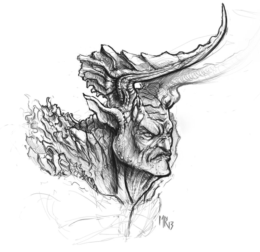 http://butteredbap.deviantart.com/art/Demon-Sketch-378381226