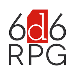 6d6 RPG Logo Square Small 250px