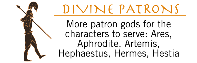 Age of Legends Kickstarter Graphic Divine Patrons