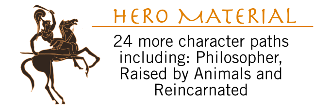 Age of Legends Kickstarter Graphic Hero Material
