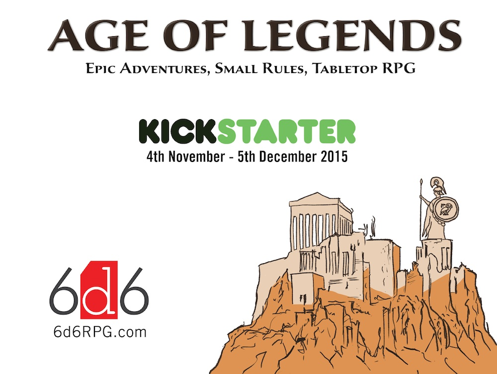 Age of Legends Kickstarter