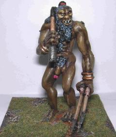 """Orgalmir displays his """"weapons"""""""
