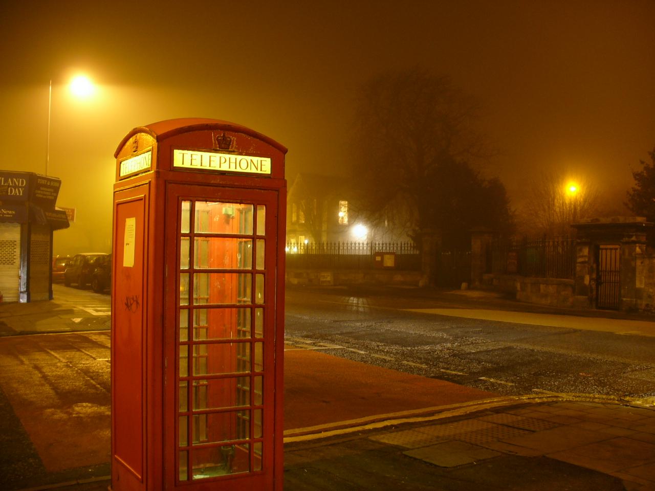 Haunted Phonebox